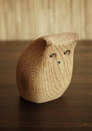 Wooden Owl by Arne Tjomsland