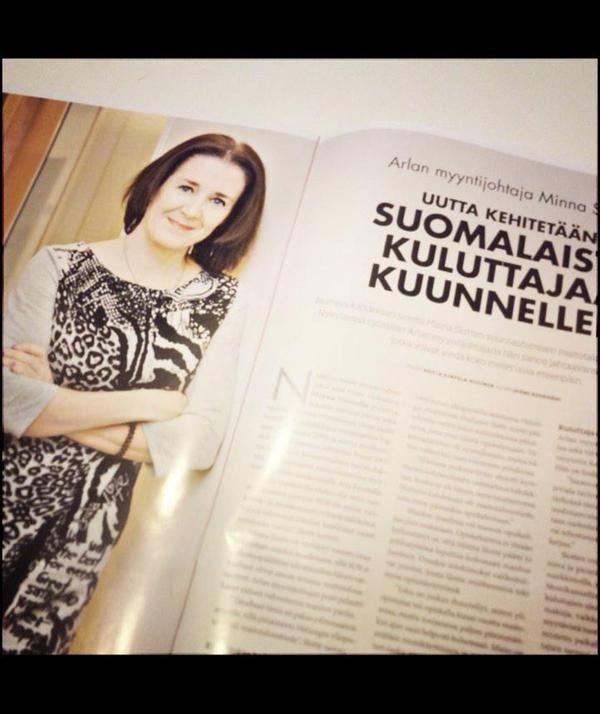 Naisjohtaja ei ole meillä mikään harvinainen näky. Myyntijohtaja Minna Slotte palasi monen vuoden jälkeen takaisin Sipooseen.