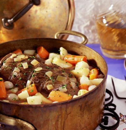Crockpot Beef Pot Roast with Lipton Onion Soup Mix Recipe - Changes I made to this recipe - Flour Roast and brown both sides before putting into crockpot...also add 2 onions and a packet of brown gravy mix.
