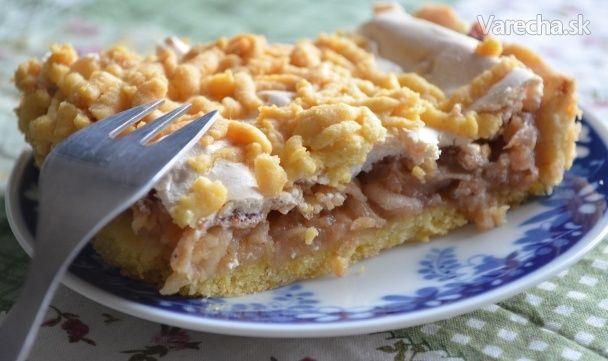 Strúhaný jablkový koláč - Barónkine rezy (fotorecept)