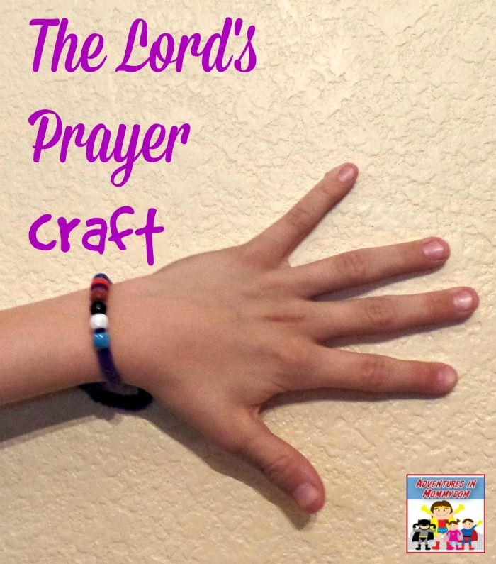 The Lord S Prayer Craft Adventures In Mommydom Lords Prayer