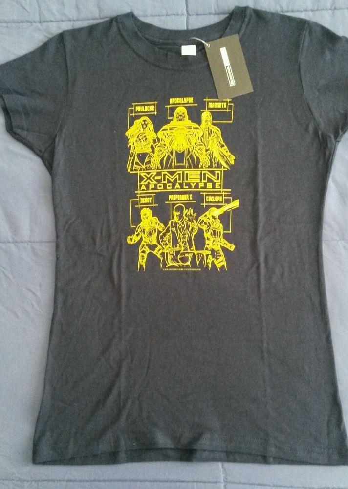 Ladies Marvel X-Men Apocalypse T-shirt sz S | Geekfuel