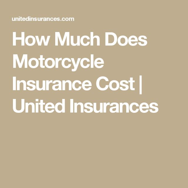 How Much Does Motorcycle Insurance Cost?  If you want to find out how much does motorcycle insurance cost, the answer is relative and depend on many factors that every insurance company may take into consideration. The exact cost of motorcycle insurance was difficult to define in general.  #insurance #insurancecompany #Motorcycle #MotorcycleInsurance