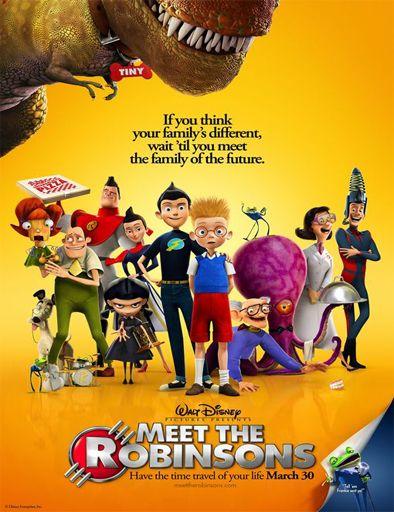 Poster de Meet the Robinsons (Descubriendo a los Robinsons)