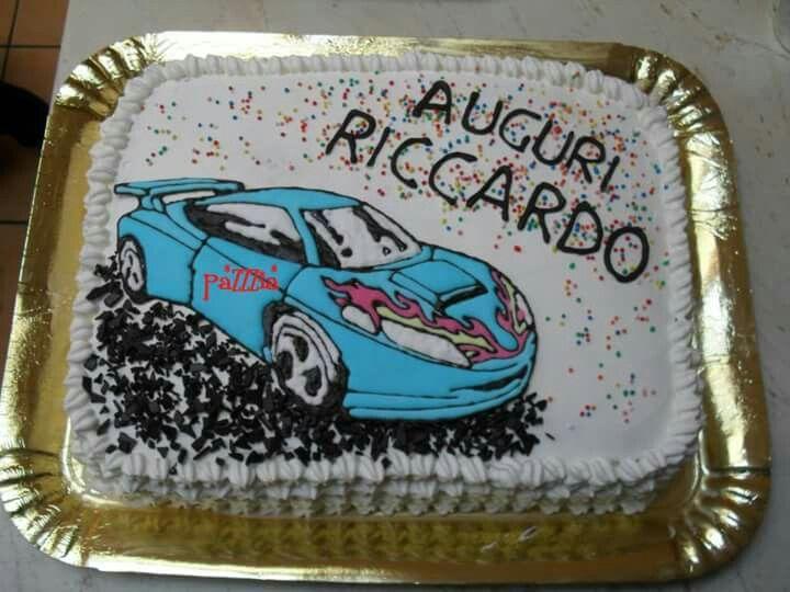 Torta Hotweels Cake