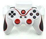 Aweek?® T3 Bluetooth Controller Android Wireless Game Controller Gamepad Joystick for Smart Phones/ Tablets/ Smart TVs/ TV boxes etc., White, Model: , Electronic Store & More