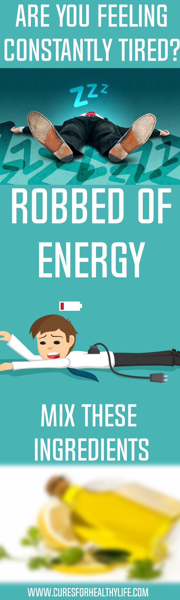 """Are you feeling constantly tired and robbed of energy? If this is the case, you should immediately do something about it. Before proceeding, you need to find what's draining your energy first. Once you identify the culprit, there's an easy way to """"recharge your batteries"""" in just a short time."""