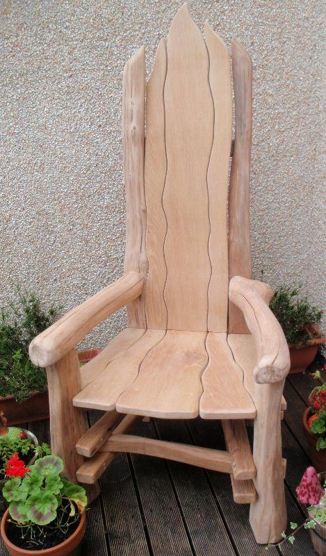 best log furniture  on Pinterest