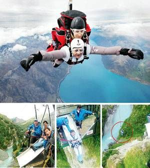 Adventures in the cliffs - Mumbai Mirror -