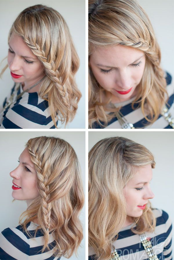 French Lace Fringe Braid | Hairstyles Weekly