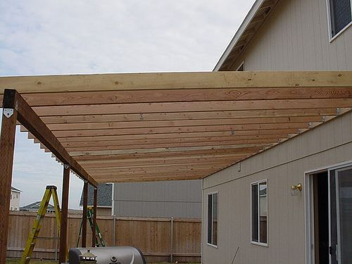 Pics Photos How To Build A Patio Cover With A Corrugated