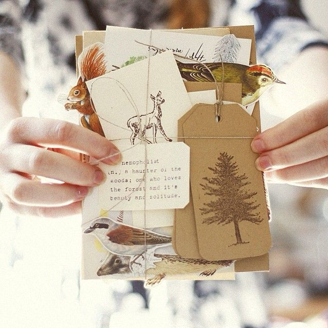 This post has some cute pictures of snail mail and also an interview with an avid snail mailer.