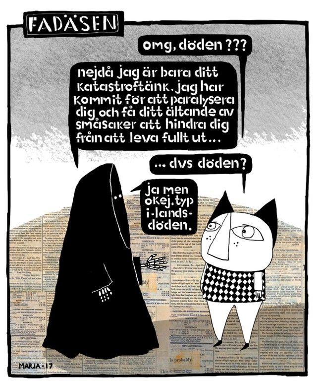 """262 gilla-markeringar, 5 kommentarer - Metro Serier (@metroserier) på Instagram: """"Fadäsen av Marja Nyberg. #metroserier #serier #fadäsen"""""""