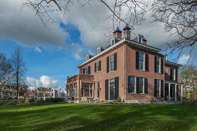 #Vredenoord #Rijswijk #DenHaag #GVBarchitecten #restauratie #buitenplaats - hoofdhuis na restauratie
