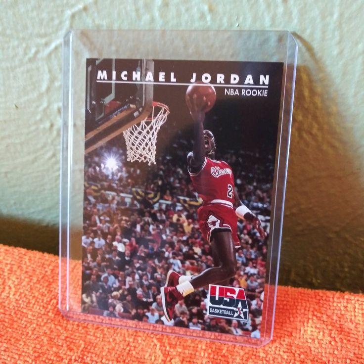Rare 1992 Michael Jordan NBA Rookie Skybox Collector Card