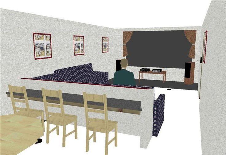 Basement Project: Theater / Bar / Rec Room