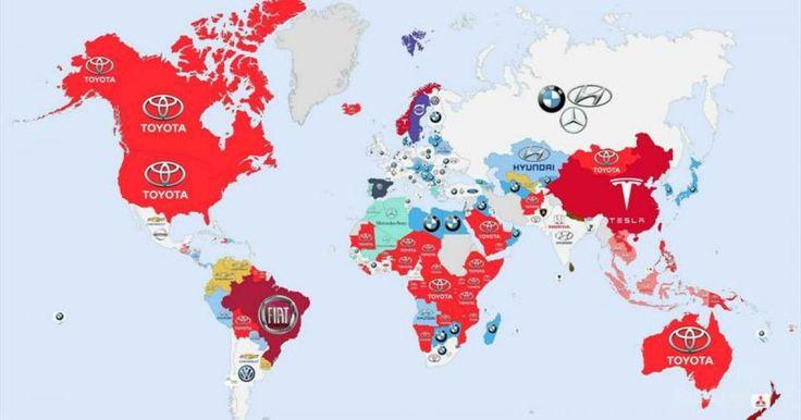 """Estas infografías nos muestran claramente cuales son las marcas de automóviles mas buscadas en Google alrededor del mundo. Con la llegada de la Internet, los motores de busqueda para cualquier cosa se han vuelto escenciales y que mejor que el numero uno y principal de todos para lograr esta estadística que """"Google"""". De manera global se puede ver que Toyota es la marca que más predomina en las búsquedas por Internet, siendo América del Norte, Japón, Australia y la mayoría de África las…"""
