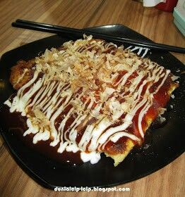 Okonomiyaki crab