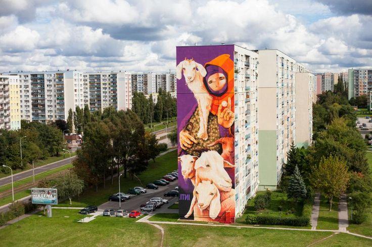 Inti (Chile), Fundacja Urban Forms, Łódź 2014