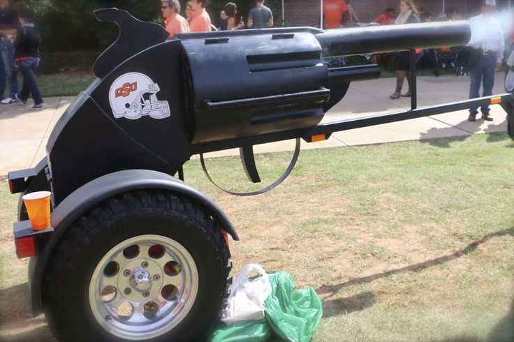 Pistol (Pete's ) Tailgating Grill | by OakleyOriginals