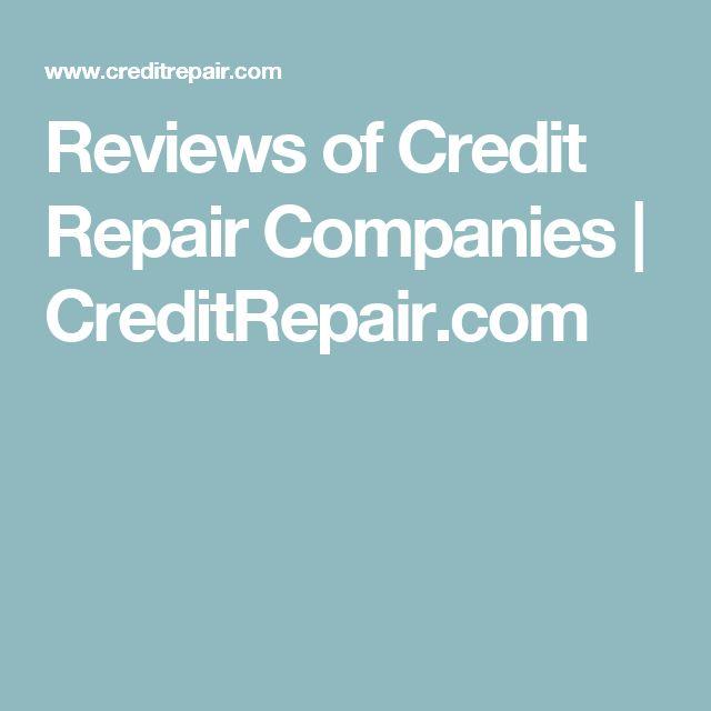 Reviews of Credit Repair Companies | CreditRepair.com