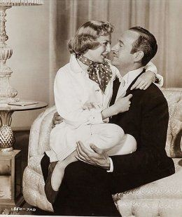 David Niven and June Allyson in My Man Godfrey (1957)