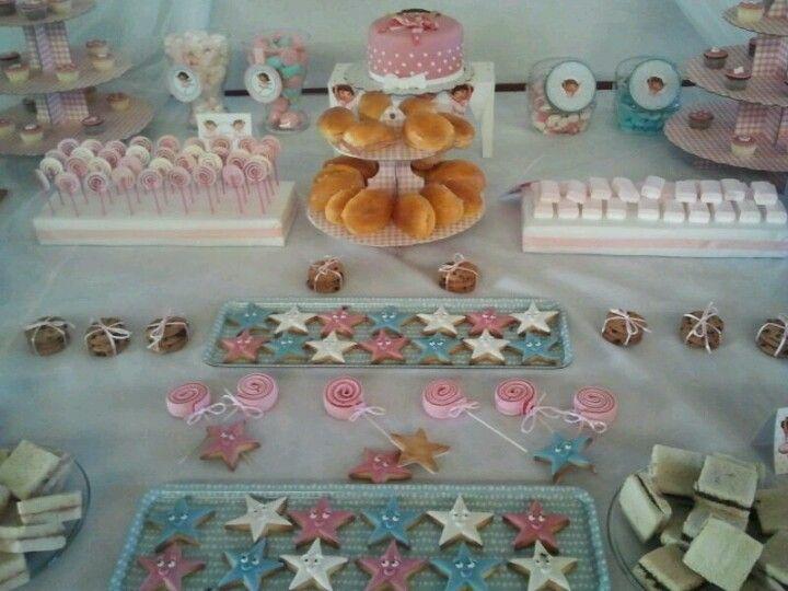 Diseño y decoracion de eventos# Dora bailarina# mesa merienda para cumpleaños