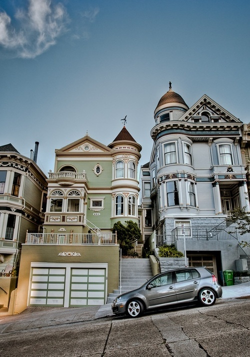 18 best images about s o francisco on pinterest cars for San francisco victorian houses