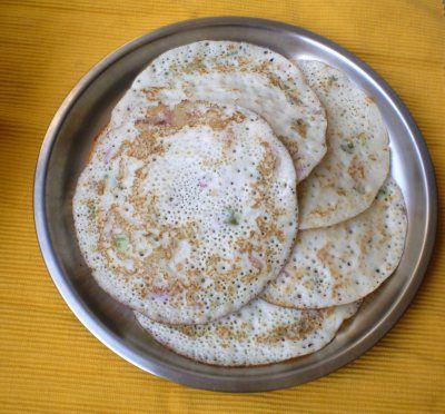 Onion uttapam #Dosa #Rice #Dal #Lentils #Indian #Pancakes
