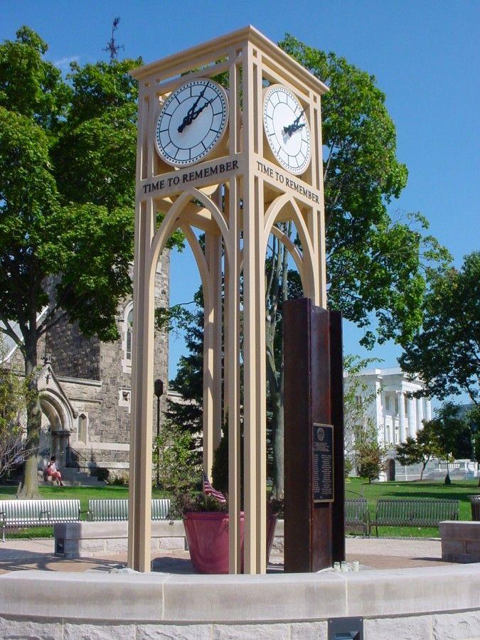 Memorial Clock Tower in Somerville, New Jersey