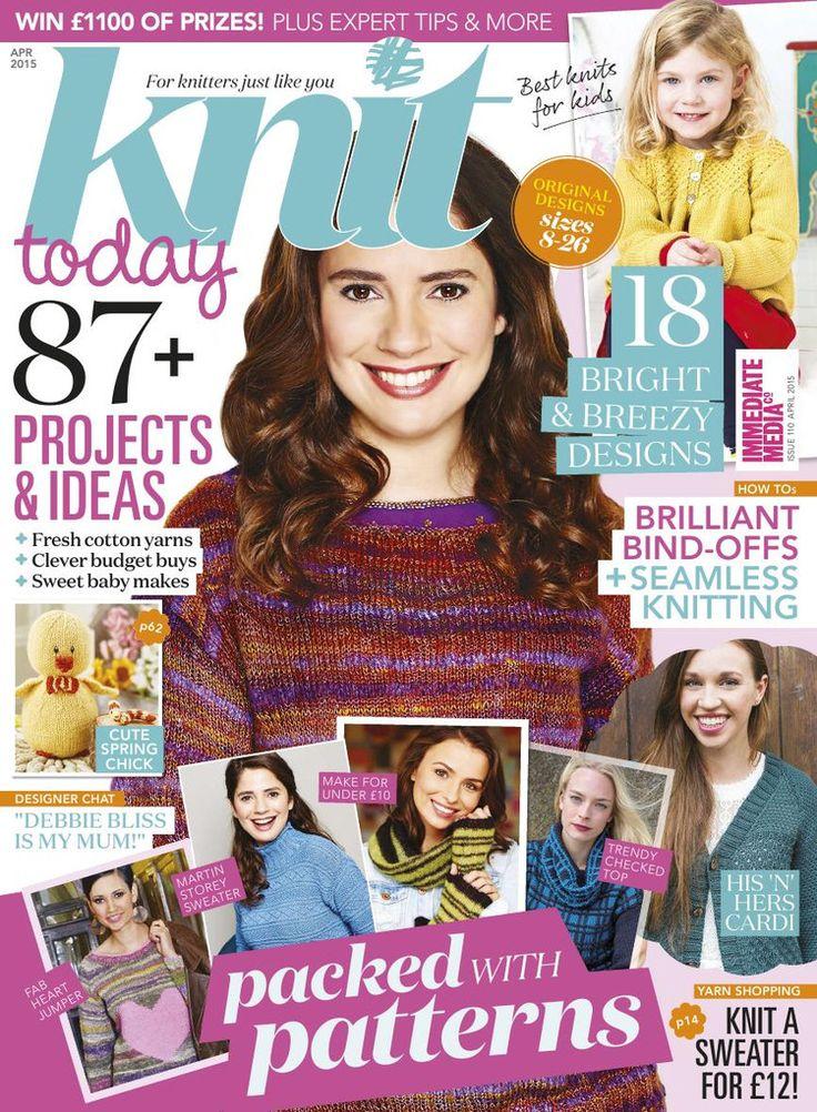 Knit Today Issue 110 2015 - 轻描淡写 - 轻描淡写