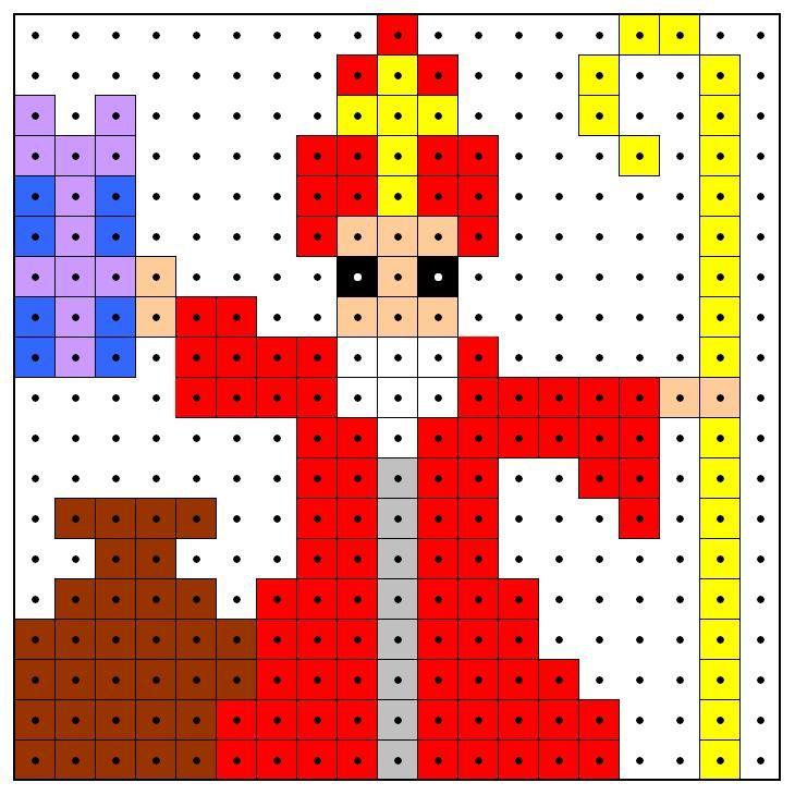 KleuterDigitaal - wb kralenplank sinterklaas 02
