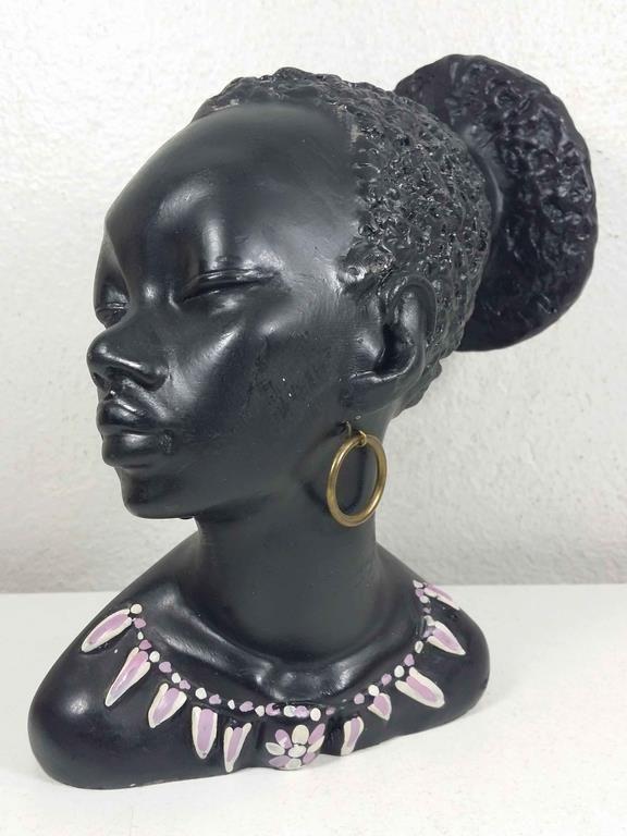 Annons på Tradera: GINO MANCA AFRIKANSKA FIGURIN VINTAGE NOSTALGI 50/60-TAL => FRAKTFRI