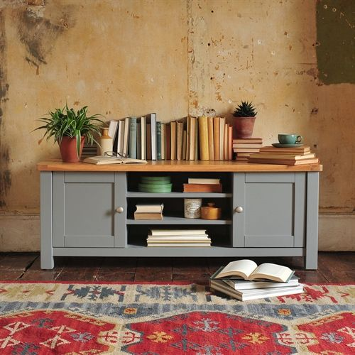 Florence Grey Widescreen TV Unit