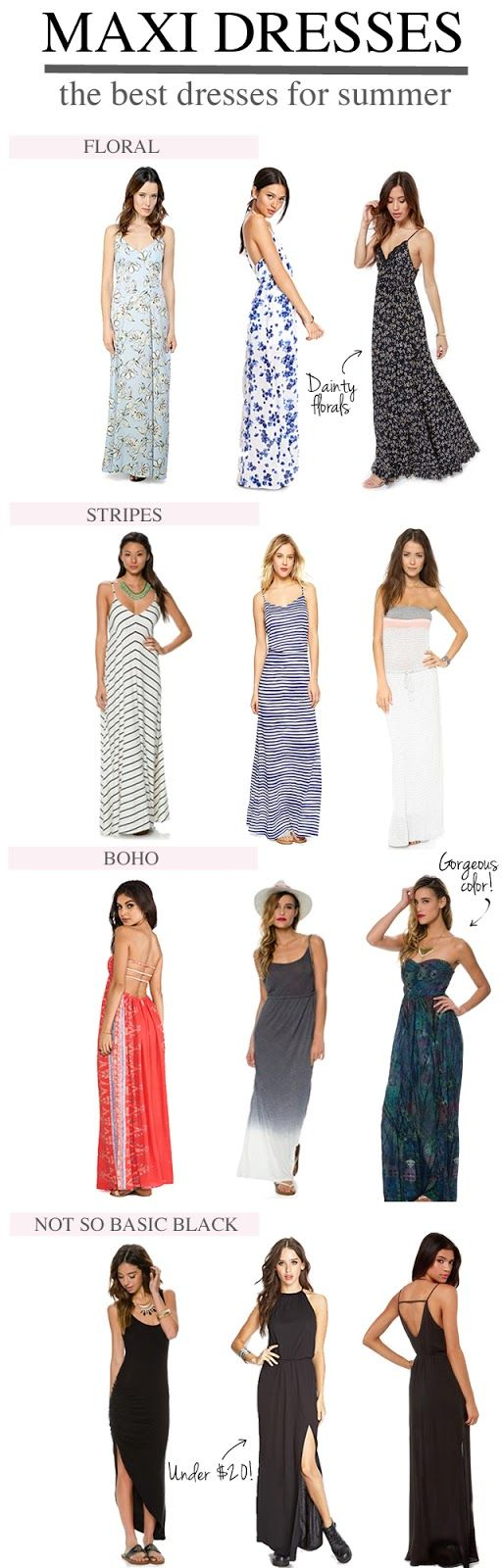 The Best Maxi Dresses For Summer