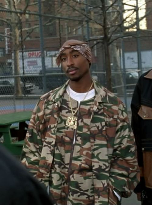 2pac above the rim camo outfit -