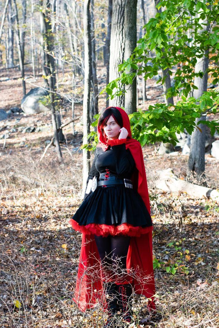 wandering past  ruby rose  rwby  cosplay tutorial