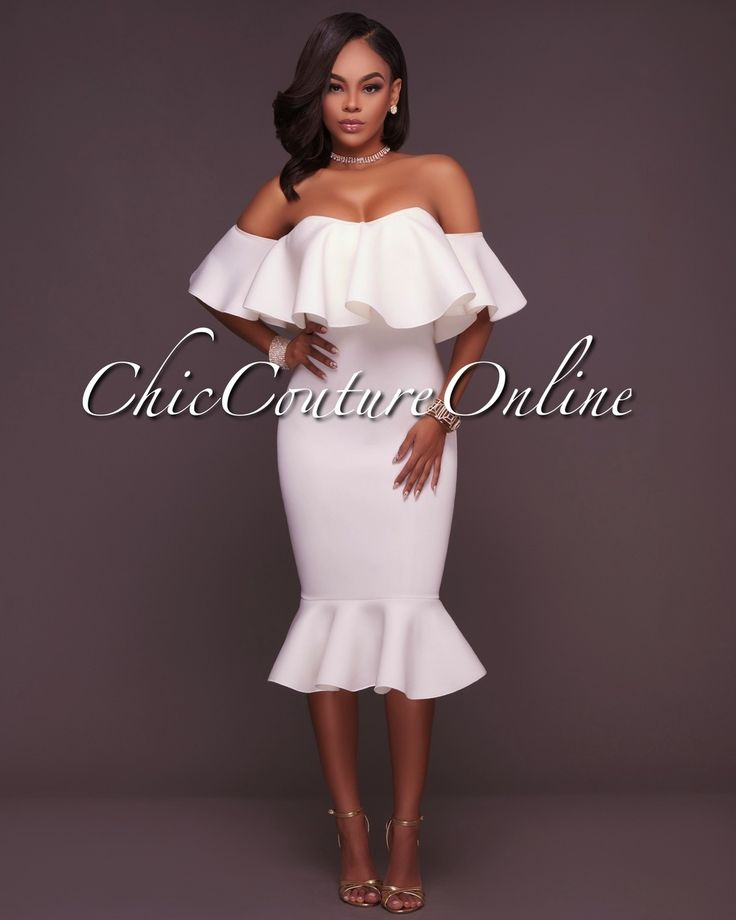 25 Best Ideas About White Off Shoulder Dress On Pinterest