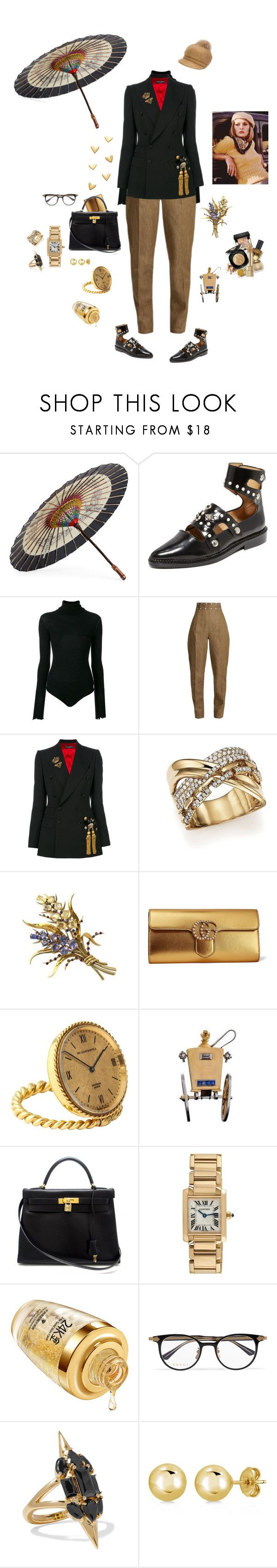 """""""Fashion film"""" by mbarbosa ❤ liked on Polyvore featuring Gucci, Toga, Unravel, Dolce&Gabbana, Bloomingdale's, Van Cleef & Arpels, Hermès, Cartier, Noir Jewelry and BERRICLE"""