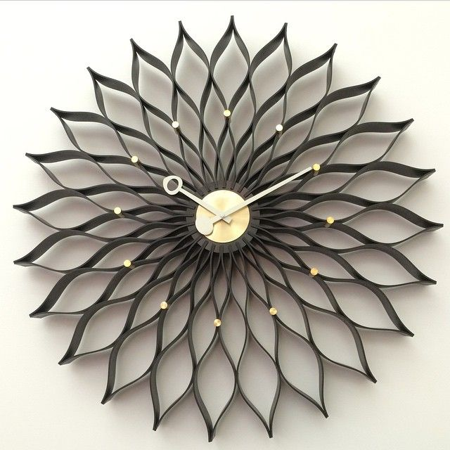 George Nelson Sunflower clock!!   http://www.franceandson.com/sunflower-clock.html #midcentury