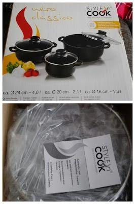 Nimrodel AT´s Foto, Bastel- und Produkttestblog: Style´n Cook Topfset 6-teilig Kochtopf-Set