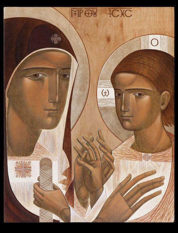 Lyuba Yatskiv The Mother of God