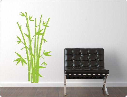 Lovely Wandtattoo Bambus Nr