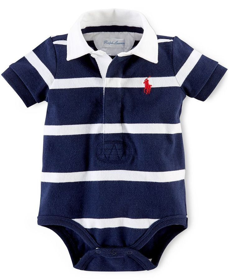 Polo Ralph Lauren Baby Boys Striped Bodysuit Kids
