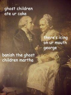 Soooooooo apparently today's Martha Washington's 284th birthday…