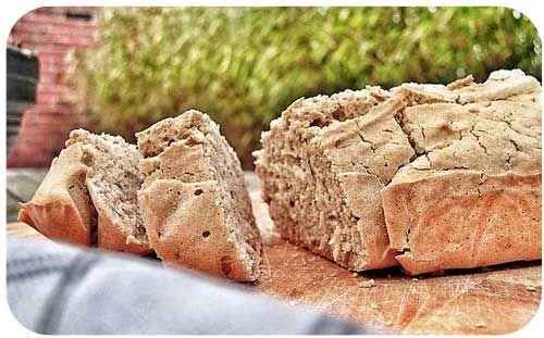 glutenvrij-brood-maken. Rijstemeel en maismeel vervangen door quinoameel, lijnzaadmeel, amandelmeel, kokosmeel #paleo