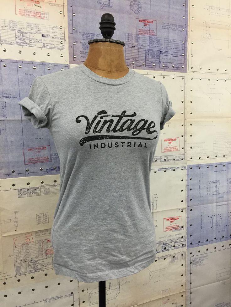 1255 best images about vintage industrial furniture design for Industrial design t shirt