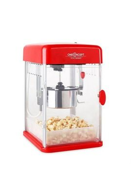 Machine pop corn Oneconcept Rockkorn Popcornmaker 350W 23,5x38,5x27cm