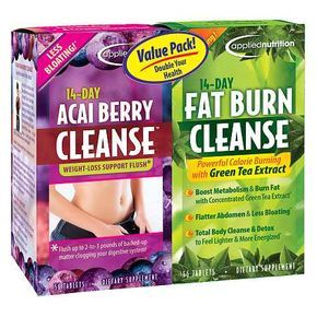 Applied Nutrition 14 Day Acai Berry Cleanse Dietary Supplement Tablets - 56 ea