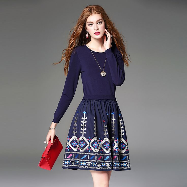 vestidos women bodycon dress autumn dress plus size women clothing embroidery vestido manga longa vestido casual jurk moda muje * Read more at the image link.